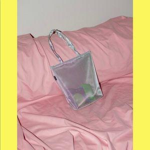 Walker Bags - Blue Mesh Open Tote / Walker Bag